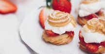 Erdbeeren Rezepte | strawberry recipes / Rund um die Erdbeere! Kuchen und Torten, Aufläufe und Desserts, Limonade, Sirup und Eiscreme! just strawberry food