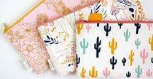 Nähen Taschen & Täschchen | sewing bags & pouches / #NähenmachtFreude | Kreative Ideen zum Nähen von Taschen- und Täschchen, sewing bags and pouches | DIY