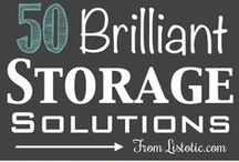 Contain Me / Storage solutions for the organisationally challenged.