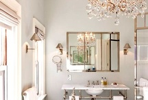 gray bathrooms / by donna @ a perfect gray