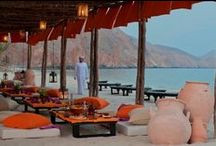 Destination dining / Experience dining at out of the ordinary locations throughout Six Senses Zighy Bay