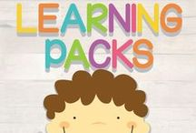 Learning Packs / DIY Printable learning packs, with lots of activities for your little munchkins!