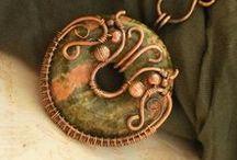 drótos, ékszeres - / Inspiration, wire craft