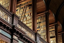 shh...Libraries & Books / My ultimate escape has always been in books. For a time I worked in a library and have always loved the feel and look of books surrounding me. / by Kate Bowyer