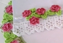 Crochet: Edgings, Lace, Trim's ... / by Peggy Wilson