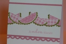 Stampin Up Only My board / by Peggy Wilson