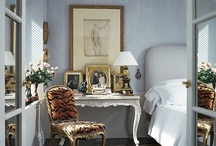 bedside tables / by donna @ a perfect gray