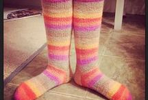 knit it up, knit it up! / knitting!