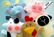 Fun with Felt / Lots of fun learning activities to create using fabulous felt!