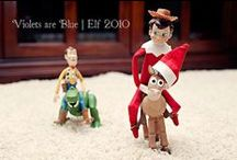 "Elf on the Shelf Ideas / Lots of ideas for our very first year doing ""Elf on the Shelf"""