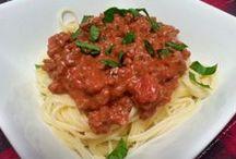 Recipe - Pasta Love / I LOVE pasta so these recipes all have pasta in them.