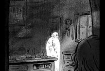 Emily Carroll - Comics and Illustrations / Work by the amazing Emily Carroll, who manages to terrify me through the medium of spooky comic strip. http://www.emcarroll.com