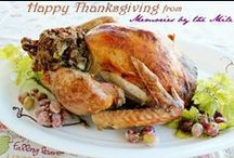 Recipes - Thanksgiving Feast / Recipes to have during the Thanksgiving Holiday.