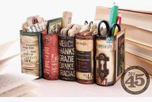 Don't Judge a Book by its Cover / Things to make with books
