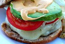 Recipes - Burgers and Sandwiches / Mouth Watering, delicious Burgers and sandwiches.