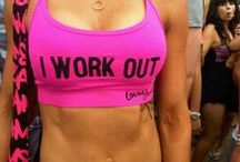 Workout, look good doing it / by Sara Travelstead