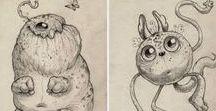 Illustrations / Las referencias visuales ayudan mucho al momento de hacer una ilustración. Aquí encontraras varias artes que me han gustado.