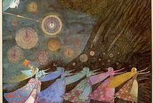Myth Legend and Fairytale / Magical Artwork from some of my favourite artists and illustrators