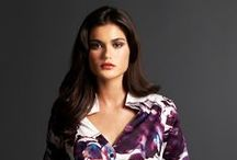 Print:  Wild Orchids / We are inspired by painterly interpretations of wild orchids for Fall 2012.  Rich, Deep, Murky colors with bright splashes of aquatic undertones are new for fall.