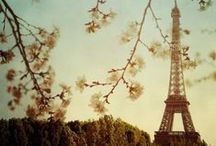 My France Obsession★ / All things French...Je vais visiter la France / by Melissa O'Neall