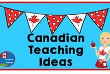 Canadian  Teaching Ideas / Canadian history, geography, social studies and other great ideas & lesson plans for teachers and students.