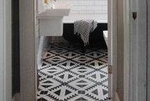 house - bathrooms / by Sarah Jacobsen