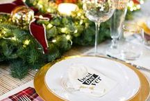 WINTER | HOLIDAYS / Entertaining:: recipes, decorating and party ideas / by Red Stamp