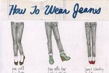 Styling:  How to Wear / Info graphics and styling tips