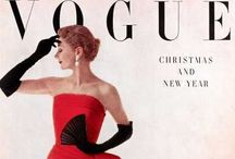 Vogue Covers I like / A selection of Vogue covers through the ages thar I particularly like / by Katriona Main