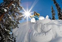 Skiing / Snowboarding / Follow this board for ski holiday, ski resort, backcountry skiing and snowboarding frolics and fun, plus some pieces on how to get ski fit to get the most out of your skiing or snowboarding holidays