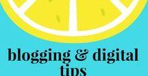Blogging & Digital Tips / Tips for succeeding online via blogs, social media, and other digital mechanisms