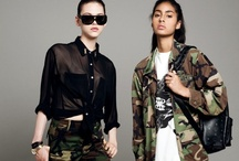 Style Army: On Trend AW12 / Military takes a new, grown-up form for AW12. Where previous autumnal collections have focussed on the modern military jacket, this season designers have opted for chicer pieces such as double-breasted maxi coats and tailored separates. Khaki is king, as Max Mara proved perfectly in a collection of utility-inspired pieces, where the colour was worn head-to-toe. Mix military style with leather and camo for top style points.