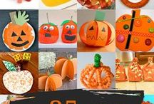 Fall Crafts / Fun things to do and make for kids from September to November.   #newenglandmomma #fall  #crafts #Halloween #Thanksgiving #Fall #Pumpkins
