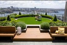 Ideas for rooftop gardens / Prompted by rooftop greenhouse requests we are collecting some of the more awe inspiring ones from around the world.