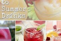 Drink Recipes / Tiki Party, BBQ, Backyard party, Holiday party, Office Party - whatever kind of party you are having there are so many fantastic drink ideas!  #drinks #cocktails