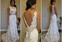 Lakefront Wedding Dress