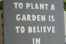 Green Thumb/ Gardening
