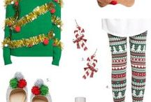 Ugly Christmas Sweater Party / Party Ideas