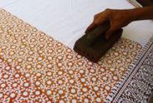 Textile | Block print