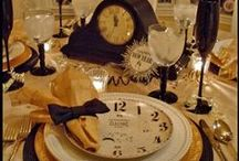 New Years / Tablescapes and fun things for New Years / by Shannon McGee