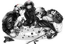 Illustration - Moose & Yeti