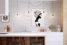 INTERIOR / Bathroom and kitchen ideas