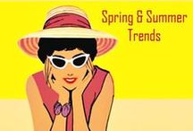 * FASHION Trends for Spring & Summer / Fashion Trends for Spring and Summer and Vacations/Holidays: What to wear for spring and warm weather if you're over 40 or 50... and some things for younger women.  I wish I had joined your fashion group. Ask me again! / by Tina Boomerina - Baby Boomer Chick