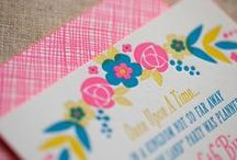 Floral Wedding Inspiration / Abbey Malcolm Letterpress + Design LOVES floral wedding decor and stationery. Check out our faves and some of our own designs! / by Abbey Malcolm Letterpress + Design