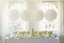 Decorating with Balloons / by Abbey Malcolm Letterpress + Design