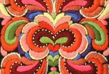 FOLK Fashion / Folklore style, folk clothing modern, folk art, folk wedding, folk design motifs, embroidered dresses, etc.  / by Tina Boomerina - Baby Boomer Chick