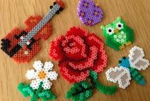 Hama bead ideas for me / I must admit that I love Hama beads as much as the children, here is some inspiration for my own projects!
