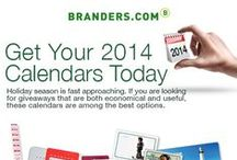 Calendars / Holiday season is fast approaching. If you are looking for giveaways that are both economical and useful, these calendars are among the best options. / by Branders.com