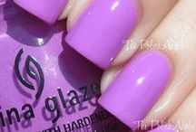"Pantone 2014 - Radiant Orchid / Inspired by Pantone's color of 2014 ""Radiant Orchid"""