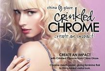 China Glaze - Crinkled Chrome / On Shelf January 2014